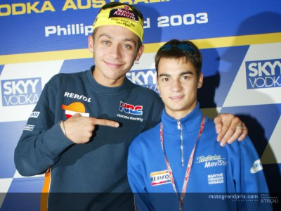 Rossi backs Pedrosa for 250 success