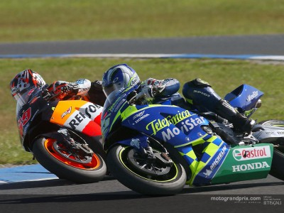 Gibernau and Team Gresini satisfied after confirming Vice-Champion status in Phillip Island