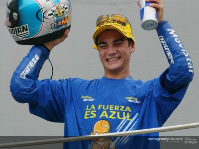 Pedrosa gets his chance to celebrate in Valencia