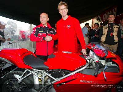 Hodgson ha firmato per Ducati e il team D'Antin