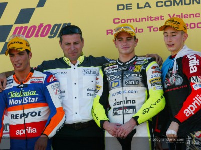 Quotes from the 250cc podium in Spain