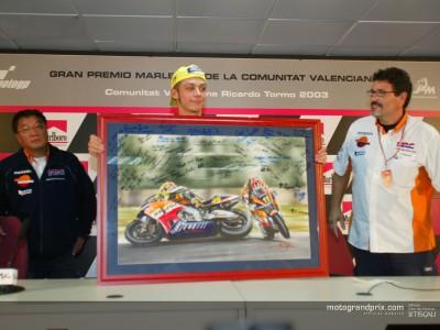 Rossi y Honda confirman su separación tras la victoria final en Valencia