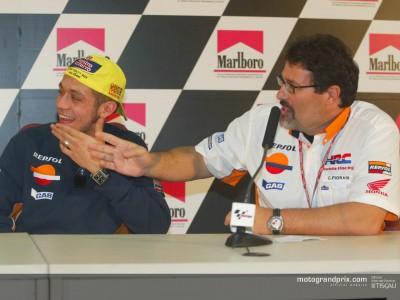 Le discours d'adieu de Rossi à Honda