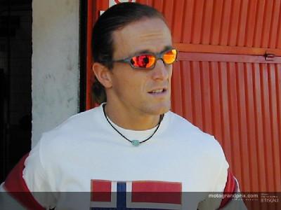 Gibernau welcomes Edwards and bids farewell to Rossi