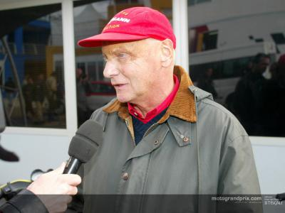 Niki Lauda: 'MotoGP is leading Formula 1 as a spectacle'