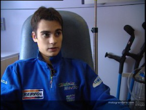Dani Pedrosa on a bittersweet end to the 125cc season