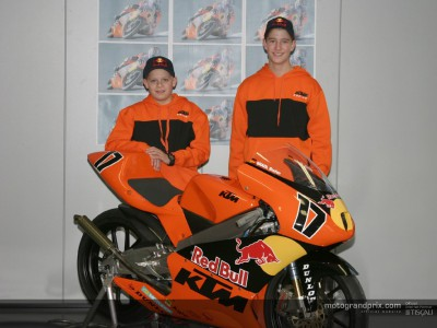 KTM Red Bull to enter Junior Team in German Championship