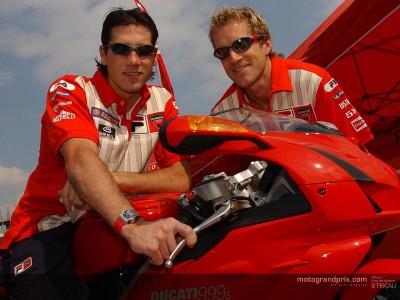 Ruben Xaus compañero de Hodgson en Ducati d'Antin