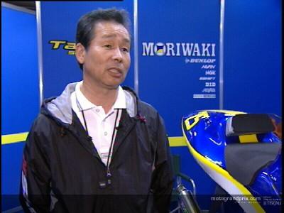 La Moriwaki sta ancora lavorando per trovare un posto per il 2004