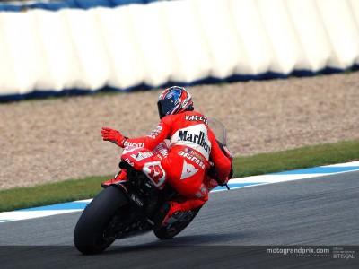 Los equipos Aprilia y Ducati completan su test en Jerez con una provechosa jornada
