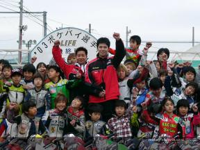 Nakano endorses annual Pocketbike initiative for young Japanese kids