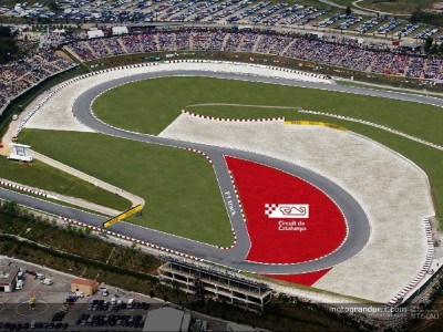 Catalunya circuit set for alterations
