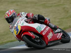 Fabrizio Lai comments on his first test with the Gilera team