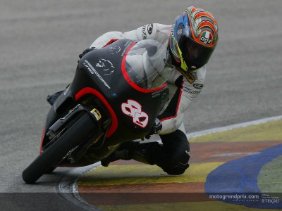 Barberá debuts with new team on busy day at Valencia