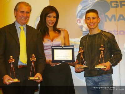 Poggiali and Rolfo collect awards at Bologna Motorshow