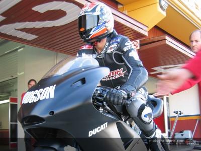 Hodgson e Xaus hanno debuttato in  MotoGP negli affollati test di Valencia