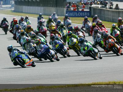 Provisional entry list for the 2004 125cc World Championship released
