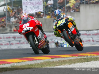 Provisional entry list for the 2004 MotoGP World Championship