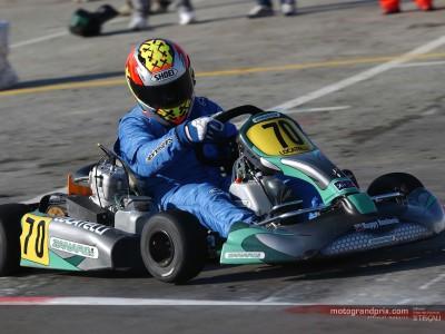 Locatelli races karts with Zanardi at the Bologna Motorshow