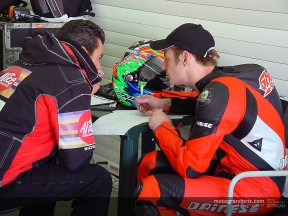 'Shakey' Byrne reveals further impressions of the Aprilia after second test
