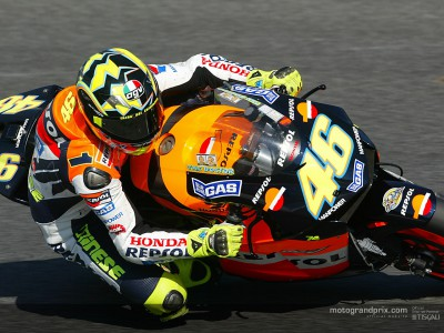 Official MotoGP website figures double in 2003