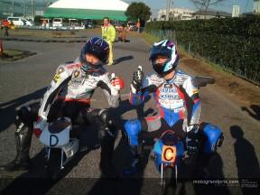 Pocketbike et minibike pour les vacances de Naoki Matsudo
