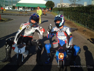 Pocketbike and minibike filled holidays for Naoki Matsudo
