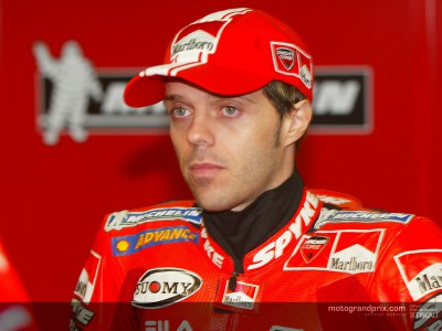 Capirossi back in training ahead of February tests