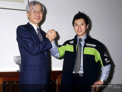 Shinya Nakano ha firmato con la Kawasaki