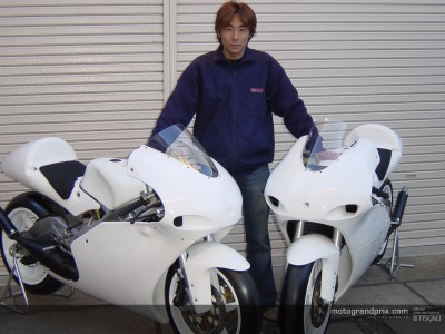 Sekiguchi making final preparations for a comeback to 250cc GPs