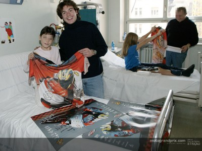 Rolfo visits children's hospital in Torino