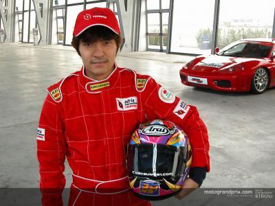 Tetsuya  Harada debutta nelle quattro ruote