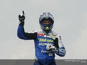 Gibernau è stato votato come il top rider della Honda in un sondaggio sul sito ufficiale