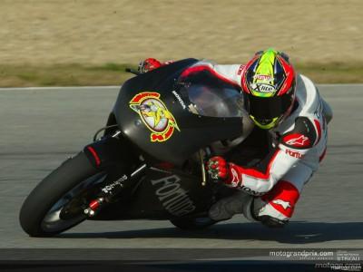 Elías, por debajo de la pole en la última jornada de tests de Jerez