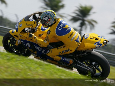 Honda sign off as tests continue in Sepang