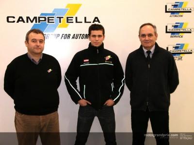 Olivé è stato confermato ufficialmente da Campetella