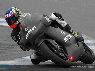 Porto and De Angelis make Aprilia 250cc debuts at Jerez