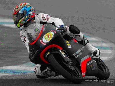 Barberá sets the pace in Aprilia test at Jerez