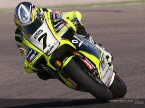 De Puniet sigue mandando en el test Aprilia de Jerez