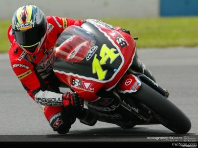 Rainman' West mais rápido em piso molhado no último dia em Jerez