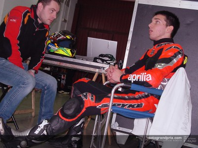 De Angelis reflects on a positive debut with the 250cc Aprilia