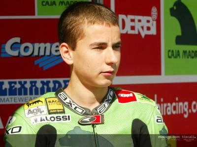 Derbi get pre-season testing underway at Almería