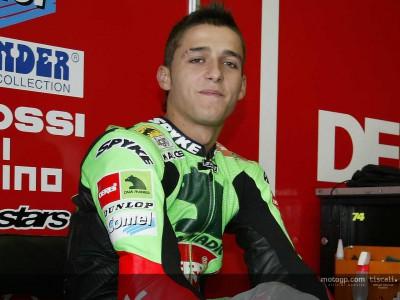 Optimismo en el  equipo Derbi Racing  tras  sus primer test de pretemporada