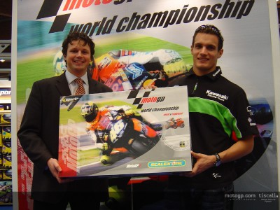 Hofmann warms up for Sepang test with Scalextric