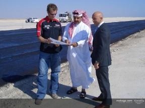 Luis D´Antin e Neil Hodgson hanno visitato il  Qatar