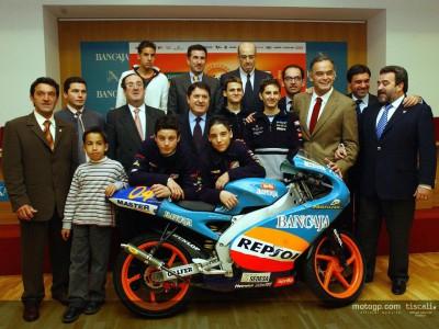 Presentación del campeonato Cuna de Campeones Repsol Bancaja 2004