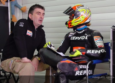Rain hinders Aprilia test at Estoril