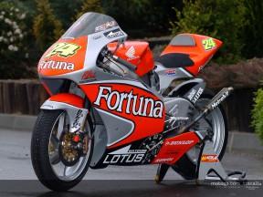 Présentation du team Fortuna Honda à Madrid