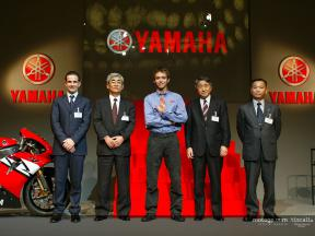 Valentino Rossi officially presented by Yamaha in Tokyo