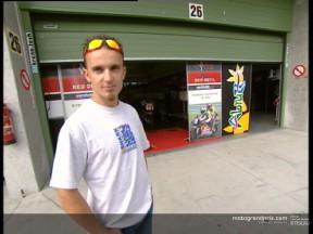 Arnaud Vincent victime d´une déchirure des ligaments